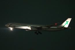 多摩川崎2Kさんが、羽田空港で撮影したエアXチャーター A340-312の航空フォト(写真)