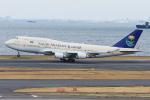 Tomo-Papaさんが、羽田空港で撮影したサウジアラビア王国政府 747-468の航空フォト(写真)
