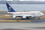 Tomo-Papaさんが、羽田空港で撮影したサウジアラビア王国政府 747SP-68の航空フォト(写真)