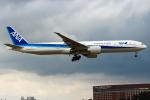 まくろすさんが、成田国際空港で撮影した全日空 777-381/ERの航空フォト(写真)