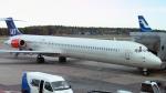 Echo-Kiloさんが、ヘルシンキ空港で撮影したスカンジナビア航空 MD-83 (DC-9-83)の航空フォト(写真)
