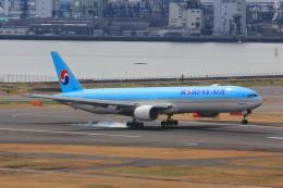こだしさんが、羽田空港で撮影した大韓航空 777-3B5の航空フォト(写真)