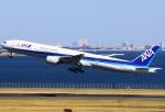 あしゅーさんが、羽田空港で撮影した全日空 777-381の航空フォト(写真)