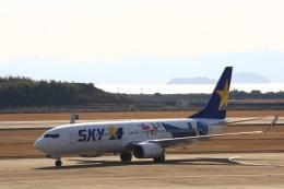 JA8565さんが、長崎空港で撮影したスカイマーク 737-86Nの航空フォト(写真)