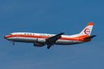 Simeonさんが、羽田空港で撮影した日本トランスオーシャン航空 737-446の航空フォト(写真)