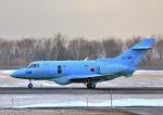 Airway-japanさんが、函館空港で撮影した航空自衛隊 U-125A(Hawker 800)の航空フォト(写真)