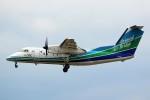 ばっきーさんが、福岡空港で撮影したオリエンタルエアブリッジ DHC-8-201Q Dash 8の航空フォト(写真)