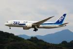 ばっきーさんが、福岡空港で撮影した全日空 787-881の航空フォト(写真)