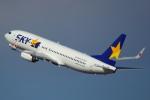 ハンバーグ師匠さんが、羽田空港で撮影したスカイマーク 737-86Nの航空フォト(写真)