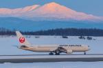 岡崎美合さんが、旭川空港で撮影した日本航空 767-346/ERの航空フォト(写真)