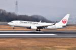 turenoアカクロさんが、高松空港で撮影した日本航空 737-846の航空フォト(写真)