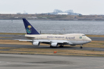 じゃまちゃんさんが、羽田空港で撮影したサウジアラビア王国政府 747SP-68の航空フォト(写真)