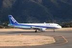 tyusonさんが、八丈島空港で撮影した全日空 A320-211の航空フォト(写真)