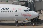 ぷぅぷぅまるさんが、福岡空港で撮影した日本トランスオーシャン航空 737-446の航空フォト(写真)