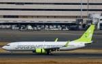 Wasawasa-isaoさんが、羽田空港で撮影したソラシド エア 737-81Dの航空フォト(写真)