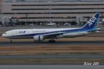 RINA-200さんが、羽田空港で撮影した全日空 777-281/ERの航空フォト(写真)
