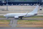 ちかぼーさんが、羽田空港で撮影したホンコン・ジェット 737-73W BBJの航空フォト(写真)