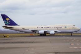 船舶妖夢さんが、羽田空港で撮影したサウジアラビア王国政府 747-468の航空フォト(写真)