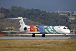 Gambardierさんが、岡山空港で撮影した日本エアシステム MD-90-30の航空フォト(写真)