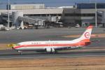 sukiさんが、羽田空港で撮影した日本トランスオーシャン航空 737-446の航空フォト(写真)