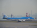 JA8037さんが、香港国際空港で撮影したKLMオランダ航空 747-406Mの航空フォト(写真)