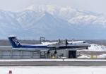 バーダーさんさんが、新千歳空港で撮影したANAウイングス DHC-8-402Q Dash 8の航空フォト(写真)