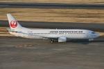 たみぃさんが、羽田空港で撮影した日本トランスオーシャン航空 737-446の航空フォト(写真)