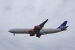 chappyさんが、成田国際空港で撮影したスカンジナビア航空 A340-313Xの航空フォト(写真)