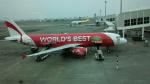 Kenny600mmさんが、高雄国際空港で撮影したエアアジア A320-214の航空フォト(写真)