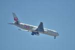 こーせー。さんが、鹿児島空港で撮影した日本航空 767-346/ERの航空フォト(写真)