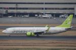 ATCITMさんが、羽田空港で撮影したソラシド エア 737-86Nの航空フォト(写真)
