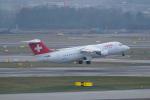 pringlesさんが、チューリッヒ空港で撮影したスイスインターナショナルエアラインズ Avro 146-RJ100の航空フォト(写真)