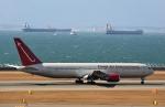 リリココさんが、中部国際空港で撮影したオムニエアインターナショナル 767-3Q8/ERの航空フォト(写真)
