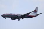★azusa★さんが、シンガポール・チャンギ国際空港で撮影したマレーシア航空 737-8FHの航空フォト(写真)