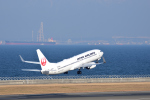 ひこ☆さんが、中部国際空港で撮影した日本航空 737-846の航空フォト(写真)