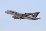 PW4090さんが、関西国際空港で撮影したシンガポール航空 A380-841の航空フォト(写真)