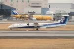 Shiro_ichiganさんが、伊丹空港で撮影したANAウイングス DHC-8-402Q Dash 8の航空フォト(写真)