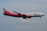 ぼんやりしまちゃんさんが、プーケット国際空港で撮影したロシア航空 747-446の航空フォト(写真)