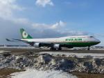 Snow manさんが、新千歳空港で撮影したエバー航空 747-45Eの航空フォト(写真)