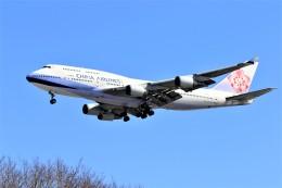 hidetsuguさんが、新千歳空港で撮影したチャイナエアライン 747-409の航空フォト(写真)
