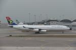 krozさんが、香港国際空港で撮影した南アフリカ航空 A340-313Xの航空フォト(写真)