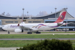 Koba UNITED®さんが、台湾桃園国際空港で撮影したトランスアジア航空 A330-343Xの航空フォト(写真)