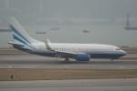 krozさんが、香港国際空港で撮影したラスベガス サンズ 737-74U BBJの航空フォト(写真)