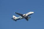 蒲田賢二さんが、香港国際空港で撮影したバンコクエアウェイズ A319-132の航空フォト(写真)
