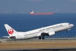 せせらぎさんが、中部国際空港で撮影した日本トランスオーシャン航空 737-446の航空フォト(写真)