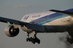海苔さんが、伊丹空港で撮影した全日空 777-281の航空フォト(写真)