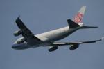海苔さんが、関西国際空港で撮影したチャイナエアライン 747-409F/SCDの航空フォト(写真)