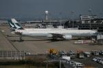 海苔さんが、関西国際空港で撮影したキャセイパシフィック航空 777-367/ERの航空フォト(写真)