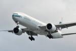 小弦さんが、バンクーバー国際空港で撮影したキャセイパシフィック航空 777-367/ERの航空フォト(写真)