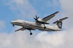 小弦さんが、バンクーバー国際空港で撮影したホライゾン航空 DHC-8-402Q Dash 8の航空フォト(写真)